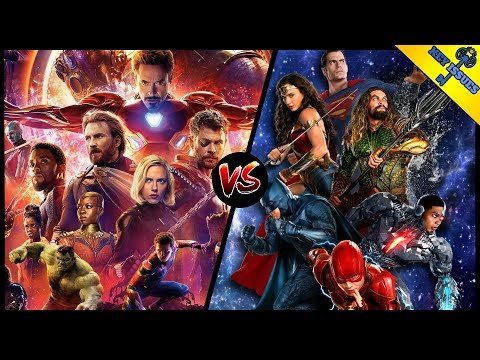 The Avengers vs The Justice League | MCU vs DCEU