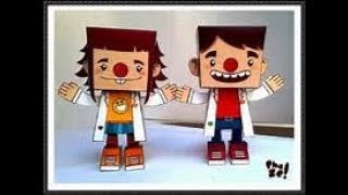 HOW TO MAKE PAPERCRAFT FIGURE @rANTISI AND THE PAPER CRAFT TEAM