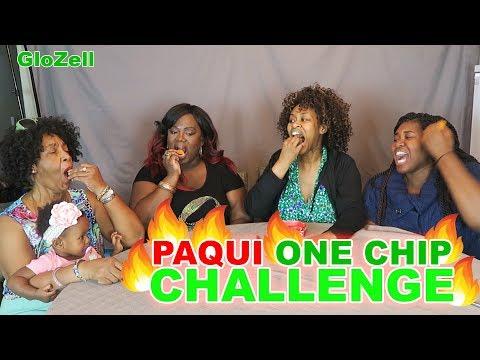 Paqui One Chip Challenge  GloZell