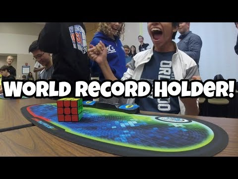 Who is Patrick Ponce? (Rubiks Cube World Record Holder)