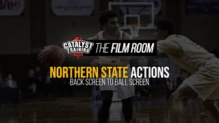 Back Screen to Ball Screen || Northern State Actions