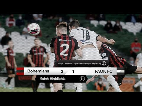 Bohemians D. PAOK Goals And Highlights