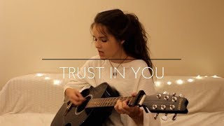 Trust in You-Lauren Daigle// (Maria Bindiu acoustic cover)
