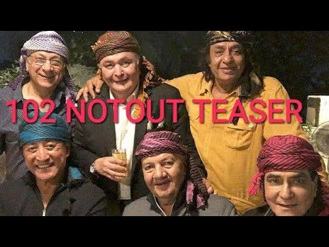 102 NOTOUT TEASER! Official Trailer Feat Rishi Kapoor And Amitabh Bachan