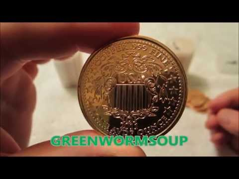 100 WALKING LIBERTY 1 OZ Copper Coins
