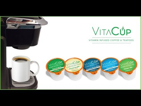 VitaCup - Vitamin Infused Coffee and Tea to Supercharge Your Day!