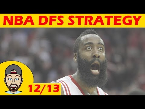 NBA DFS Projections & Strategy | Wednesday 12/13 | FanDuel & DraftKings