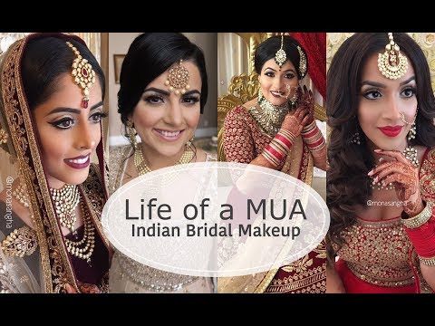 VLOG | LIFE AS A MAKEUP ARTIST | INDIAN BRIDAL