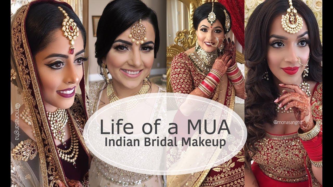VLOG | LIFE AS A MAKEUP ARTIST | INDIAN BRIDAL