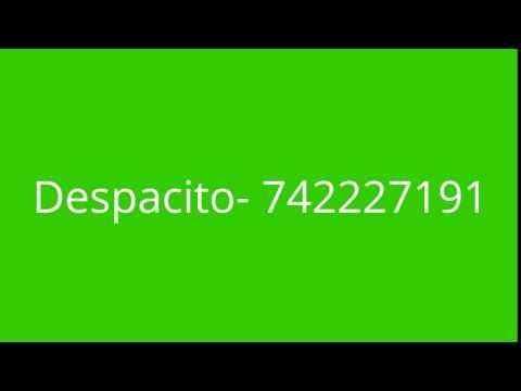 DESPACITO ROBLOX SONG ID (FT JUSTIN BIEBER)