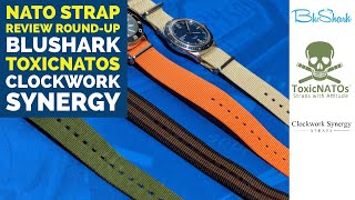 BluShark, ToxicNATOs, and Clockwork Synergy - NATO Strap Review Round-Up!