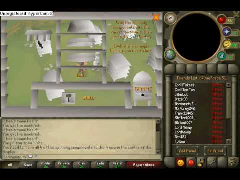 Runescape-Bee keeper random event
