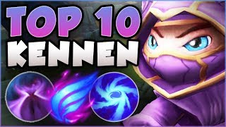 WTF! 2 PPL HIT TOP 10 CHALLENGER WITH THIS KENNEN BUILD?? KENNEN TOP GAMEPLAY! - League of Legends