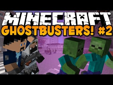 minecraft-mini-game:-ghostbusters-#2!
