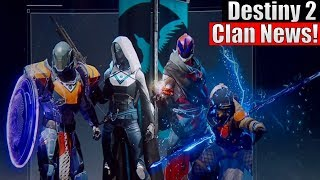 Destiny 2 - How To Create A Clan Banner, New Clan Rewards, Seasonal Clan Rewards & More!