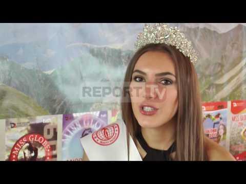 Report TV - Agnesa Vuthaj për Miss Globe:Vajzat jo vetëm të bukura edhe misionare