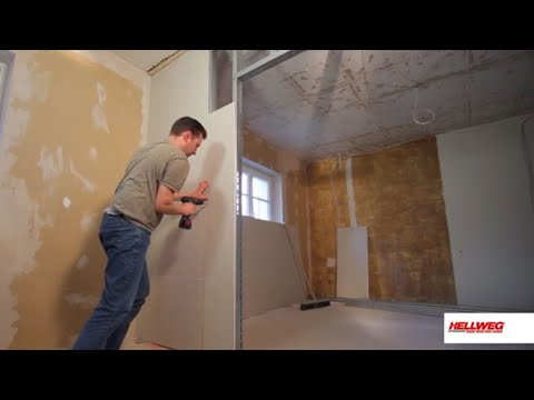 trennwand einbauen youtube. Black Bedroom Furniture Sets. Home Design Ideas