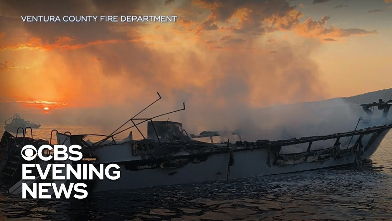 33 bodies recovered from California boat fire