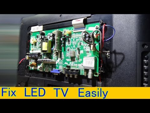 How To Repair Power Problem Of Videocon LED Television (Part 1) - Benglai Tutorial