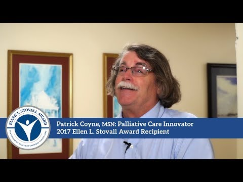Patrick Coyne: Palliative Care Innovator, Stovall Award Recipient (Full-length)