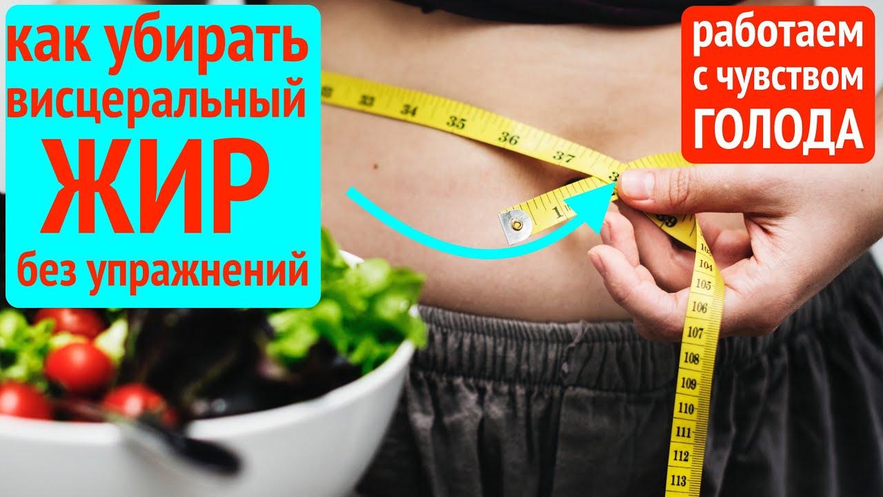 Как Убрать ВИСЦЕРАЛЬНЫЙ ЖИР и ЖИВОТ без | как похудеть в животе (висцеральный жир