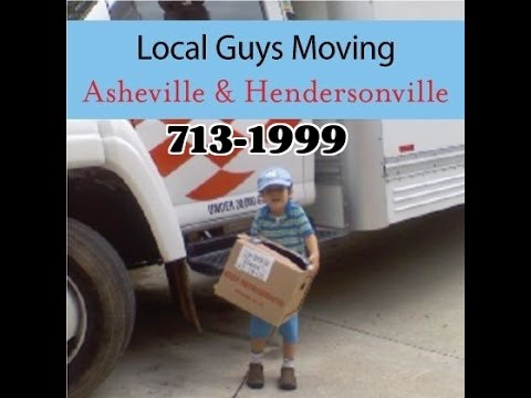 Asheville Moving Company   In Hendersonville NC Loading/Unloading ABF  Storage Containers And Trucks