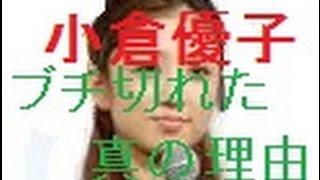 小倉優子・ゆうこりんが ついにブチ切れた 真の理由はこれだ! 夫・菊池...