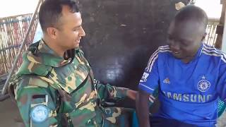 African Man Speaking Bangla with Bangladesh Army   Chealse Fan