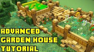 Minecraft Garden Mansion Tutorial (How to Build)