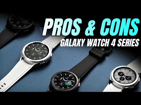 Pros & Cons of Samsung Galaxy watch 4 & Galaxy watch 4 Classic