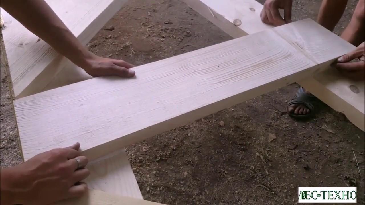 Изготовление деревянных ферм под ключ!