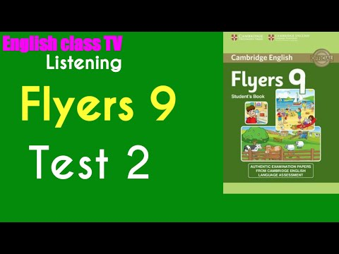 Flyers 9 Test 2   English Listening Practice   Luyện Thi Cambrige   English class TV.