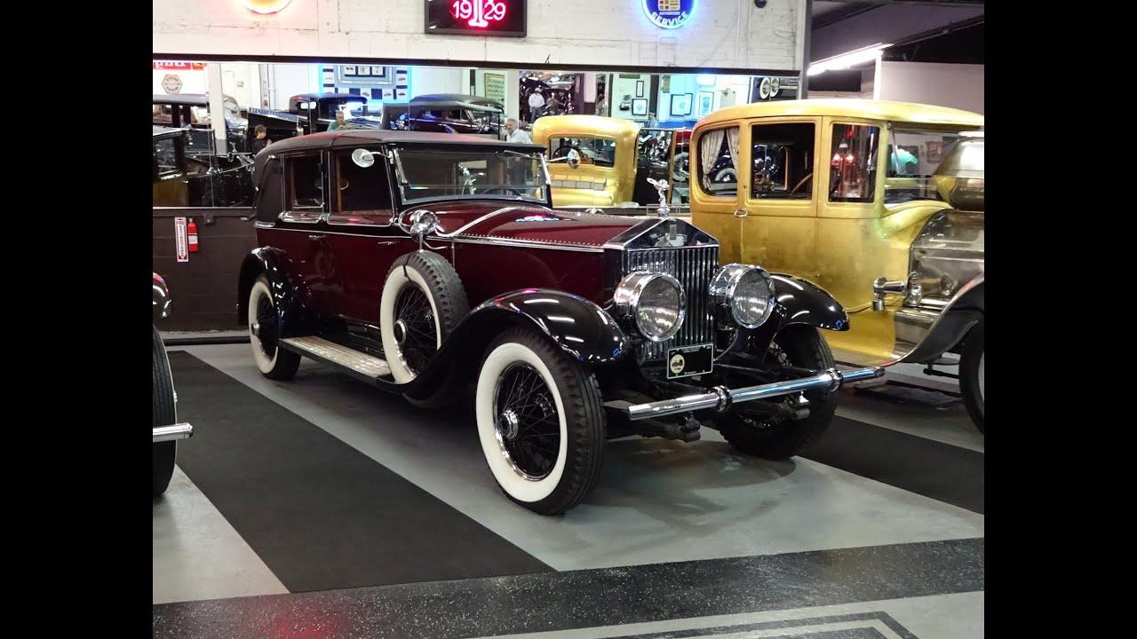 1929 RollsRoyce Phantom I Brewster Trouville Towncar on My Car