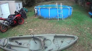 Trash fishing update and don't buy a cheap Kayak!(Trash fishing challenge is moved to Watts Bar lake. I go over my awful fishing kayak experience., 2016-11-01T22:22:06.000Z)