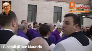 Mignano montelungo / teano – oggi pomeriggio, 12 gennaio 2020, nella chiesa di santa maria grande monte lungo l'ultimo emozionante saluto a don ma...