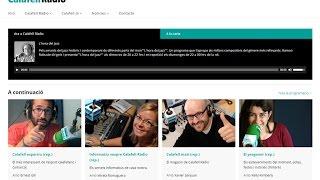 Presentació de Calafell.tv, el nou canal de comunicació impulsat per l'Ajuntament