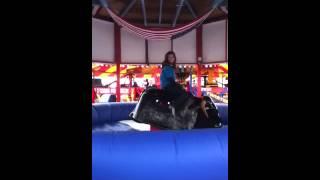 Chloe Evans Bull Riding