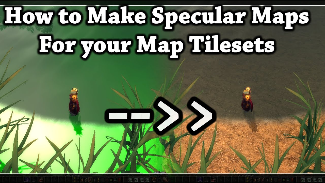 Tutorial - Easy Method For Making Specular Tilesets - WoW 4 0 6a