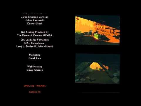 Firewatch ending credits