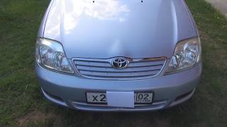 Toyota Corolla 2004 года Отличное состояние E120