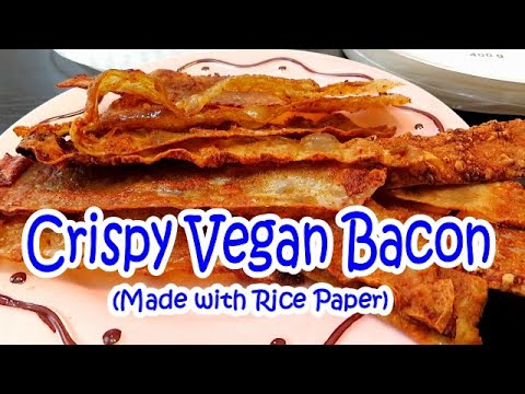 Crispy Smokey Vegan Bacon // Gluten Free