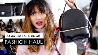 FASHION HAUL | ASOS, Zara, Gucci