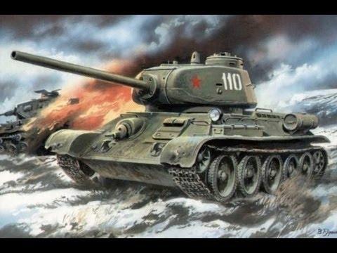 Танки Второй Мировой войны - 1/2 - YouTube