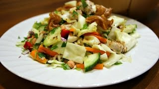 Make A Tasty Thai Crunch Salad - Diy Food & Drinks - Guidecentral