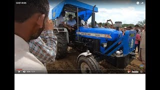 New Holland 3630 Plus tractor performed with 2 harrow in Jhinjar harrow competition