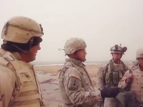 Download Youtube: Euphrates River Baptism Pre-talk by Chaplain Foster for Army Soldier Stephen Stromberg.