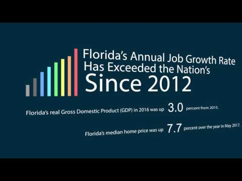 Florida's Economy By The Numbers: June 2017