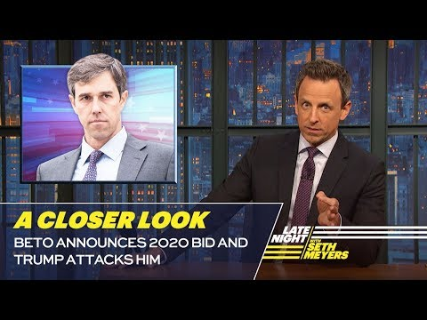 beto announces 2020 bid and trump attacks him a closer look
