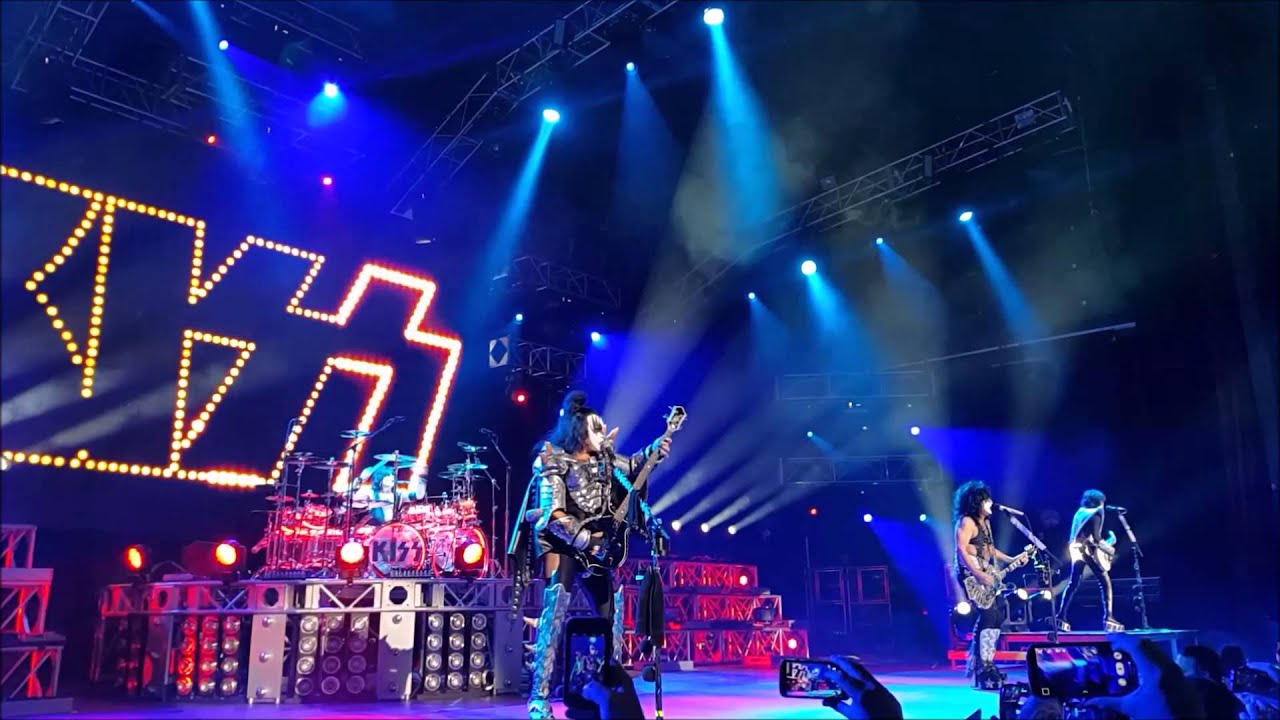 Kiss Intro Las Vegas 2015 YouTube