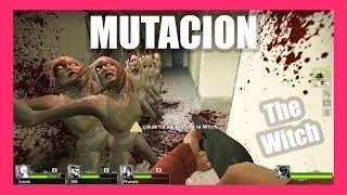 Left 4 Dead 2 Mutación: The Witch (La llorona) - No Mercy Speedrun NO DAMAGE MEGA EPIC WIN